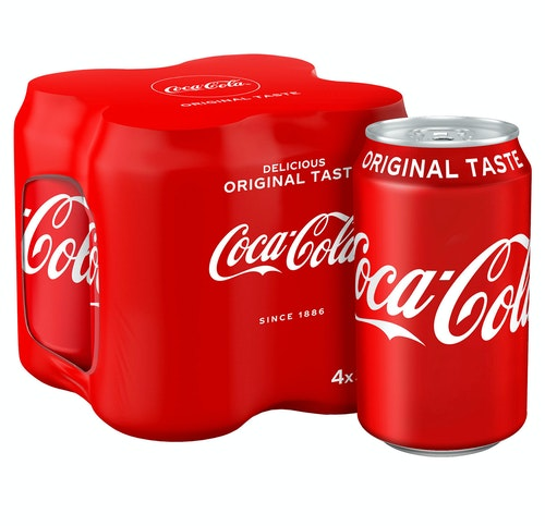 Coca-Cola Coca-Cola Regular 4 x 0,33l, 1,32 l