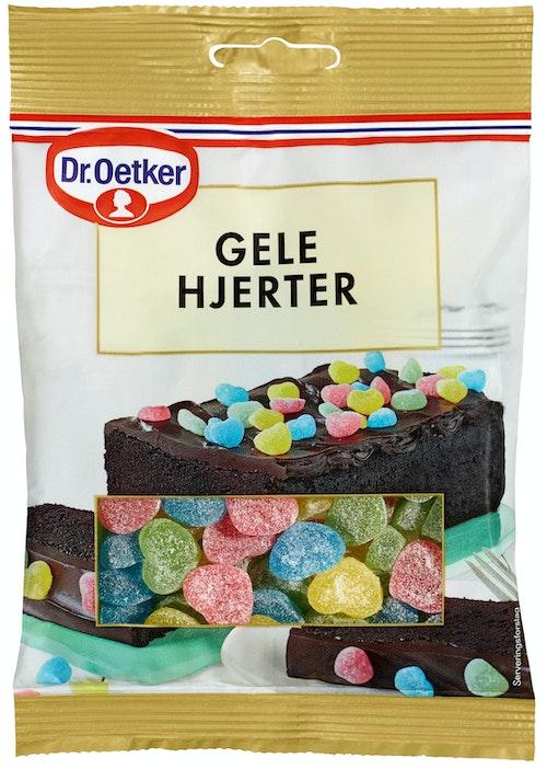 Dr. Oetker Geléhjerter 100 g