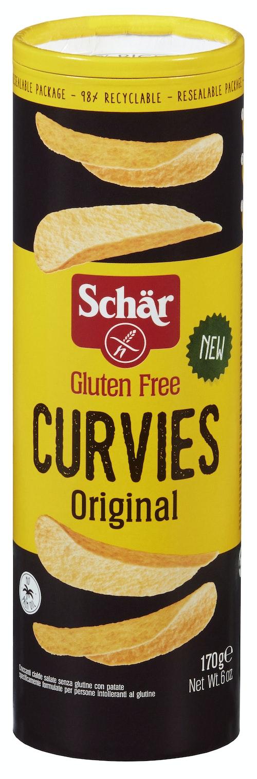 Schär Curvies Original Glutenfri, 170 g