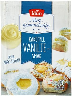 Idun Kakefyll Vanilje 37 g