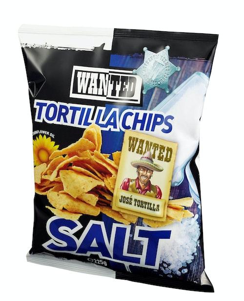 REMA 1000 Tortilla Chips Salt, 225 g