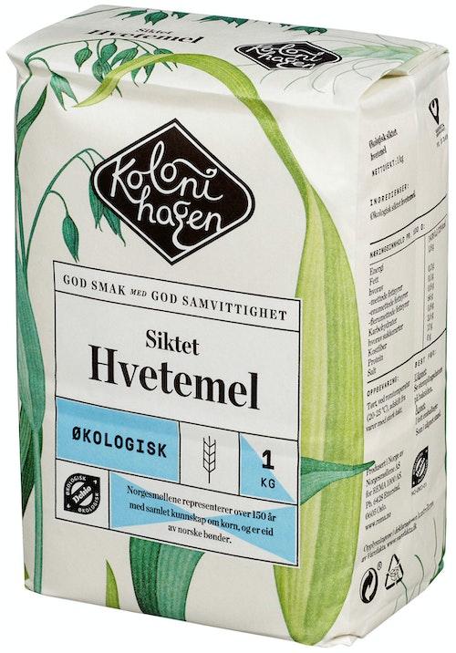 Kolonihagen Hvetemel Siktet Økologisk, 1 kg