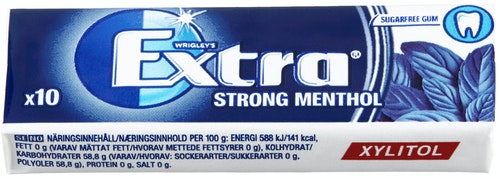 Extra Extra Strong Menthol 14 g