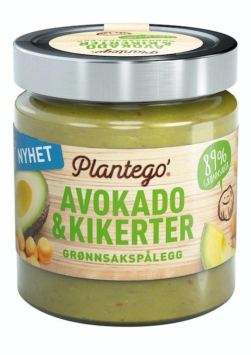 Plantego Grønnsakspålegg Avokado og Kikerter, 165 g