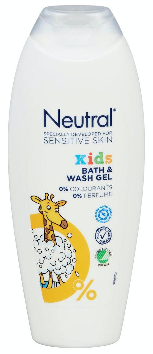 Neutral Neutral Kids Dusj Uten Parfyme, 250 ml