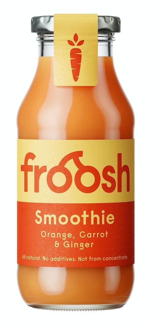 Froosh Smoothie Gulrot & Ingefær 250 ml