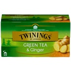 Grønn Te Ingefær