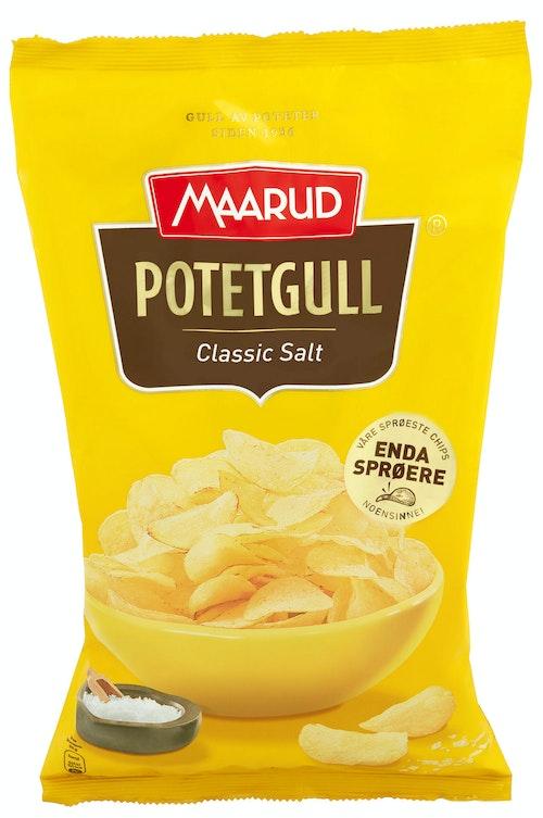 Maarud Potetgull Classic Salt 240 g