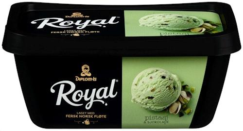 Diplom-Is Royal Pistasj & Sjokolade 0,9 l