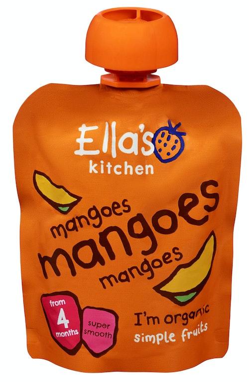 Ella's Kitchen Mango Mango Fra 4 mnd, 70 g