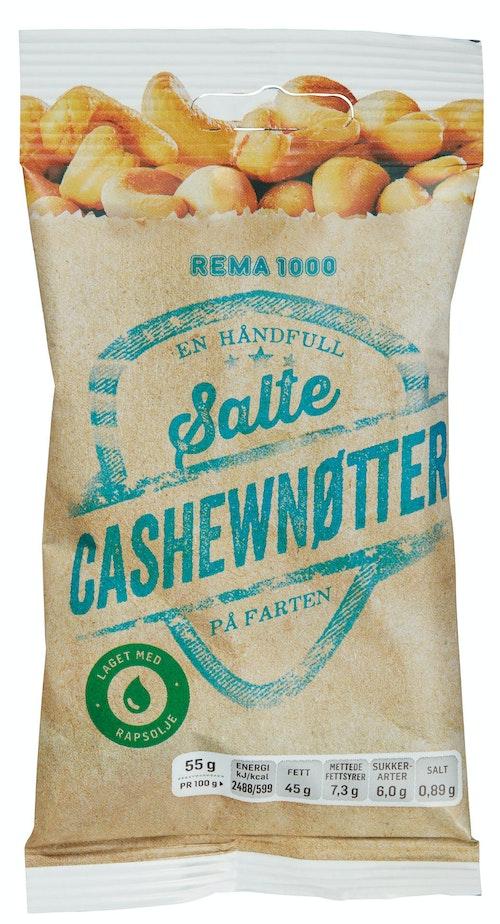 REMA 1000 Cashewnøtter 55 g