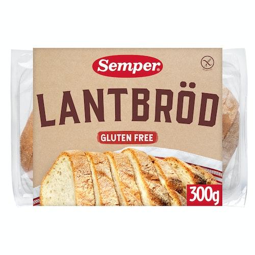 Semper Landbrød Glutenfri 300 g