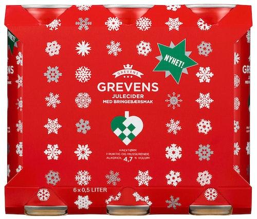 Grevens Grevens Cider Julecider 0,5 x 6stk, 3 l