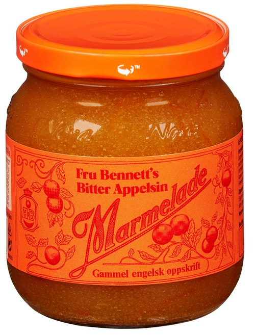 Fru Bennett Appelsinmarmelade 430 g