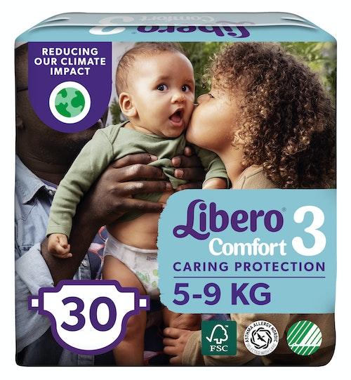 Libero Libero Comfort Str.3 5-9 kg, 30 stk