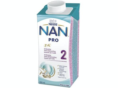 Nestlé NAN Pro 2 Fra 6mnd Drikkeklar, 200 ml