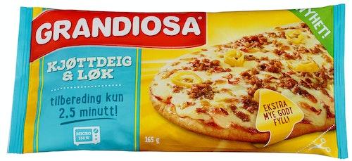 Grandiosa Grandiosa Pizzaslice Kjøttdeig, 165 g