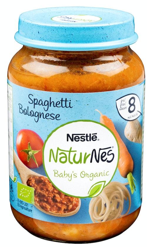 Nestlé Spagetti Bolognese Økologisk Fra 8 mnd, 190 g