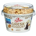 Gresk Yoghurt Vanilje & Granola