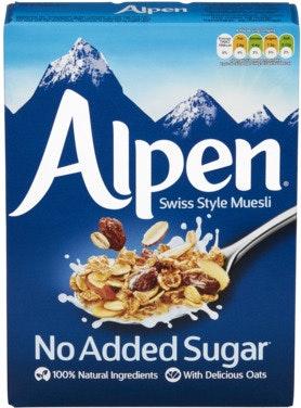 Alpen Alpen Musli No Added Sugar, 560 g