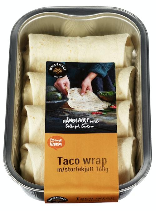 Taco Wrap Med Storfekjøtt 4 stk