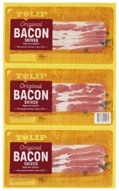 Tulip Bacon Skivet 3 stk