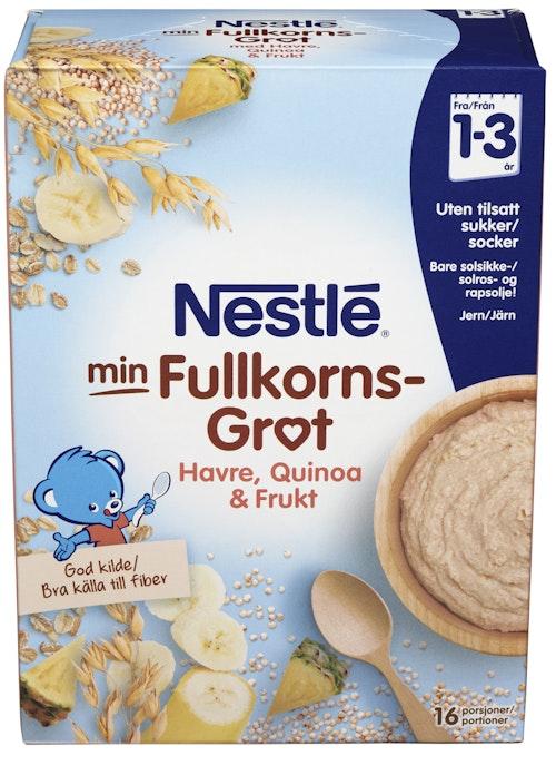 Nestlé Min Grøt Quinoa&frukt 1-3 år, 480 g