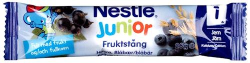 Nestlé Jr Fruktstang Havresolbærblåbær Fra 12 mnd, 25 g