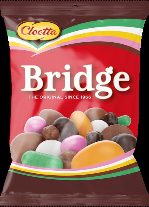 Cloetta Bridge Blanding 180 g