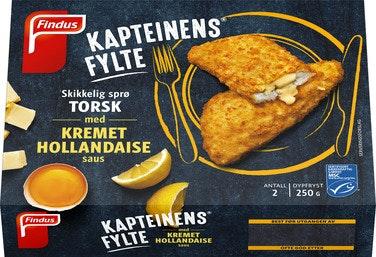 Findus Kapteinens Fylte Torsk med Hollandaisesaus 250 g