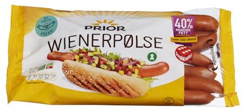 Prior Wienerpølse Kylling & kalkun 8 Stk, 520 g