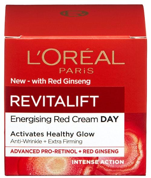 L'Oreal Revitalift Energising Red Day Cream 1 stk