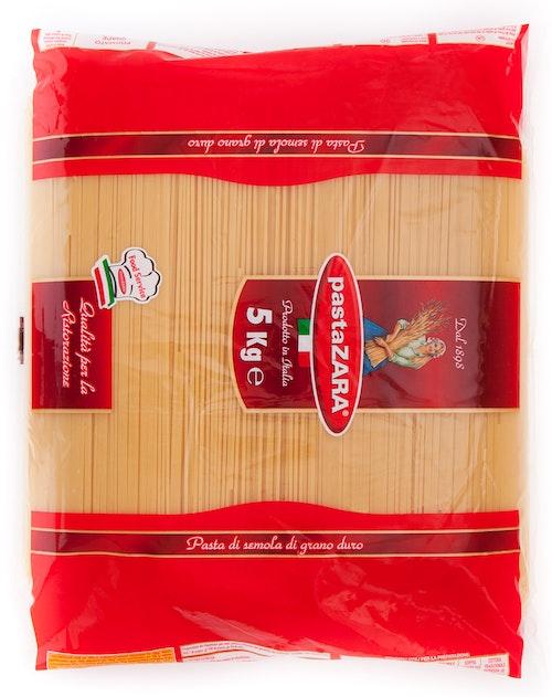 Pasta Zara Fullkorn Spaghetti 5 kg