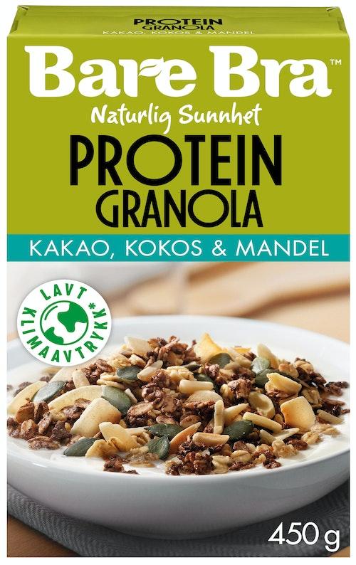 Bare Bra Supergranola Protein Kakao Kokos & Mandel 450 g