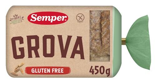 Semper Grovbrød Xl Glutenfri, 450 g
