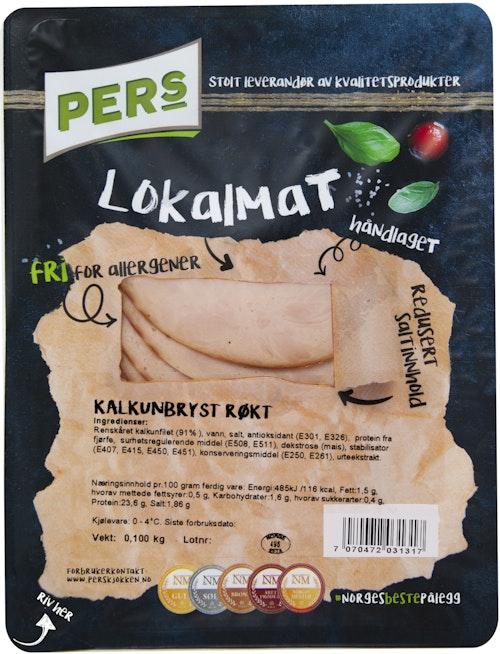 Pers Kjøkken Røkt Kalkunbryst 100 g