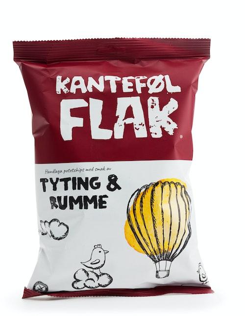Kanteføl Potetchips Med Tyttebær og Rømme 150 g