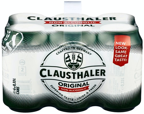 Clausthaler Clausthaler Classic 0,33l x 6 stk, 1,98 l