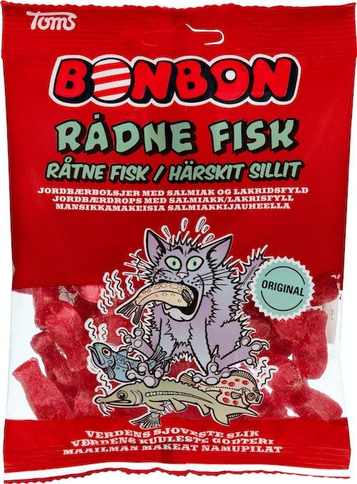Bon Bon Råtne Fisk 125 g