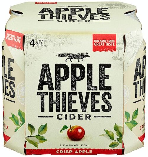 Apple Thieves Cider 4 x 0,33l, 1,32 l