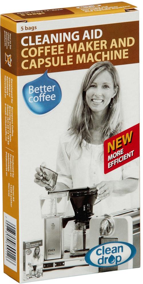 Rensemiddel til kaffetrakter 1 stk