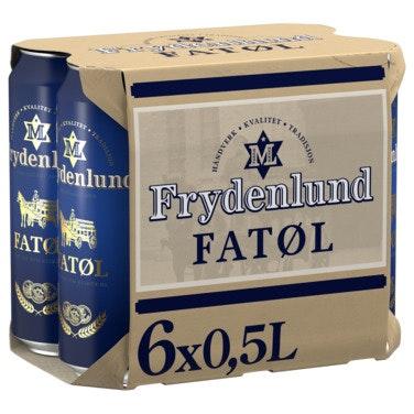 Frydenlund Frydenlund Fatøl 6 x 0,5l, 3 l