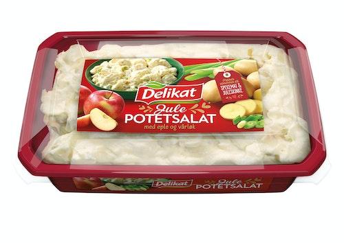 Delikat Julepotetsalat med Eple og Vårløk 480 g