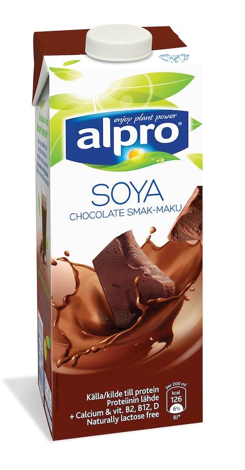 Alpro Soyadrikk Sjokolade 1 l