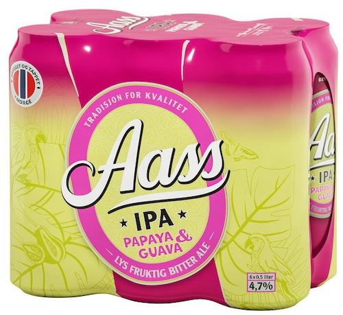 Aass Bryggeri Aass Papaya & Guava IPA 6x0,5l, 3 l