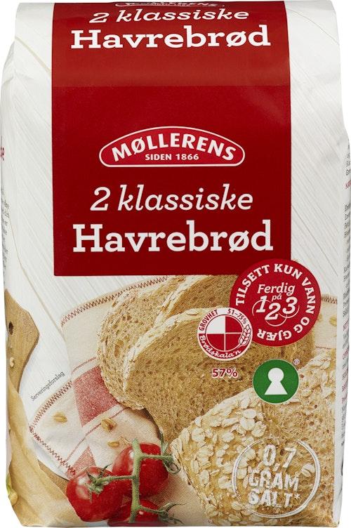 Møllerens Havrebrød 1-2-3 1 kg