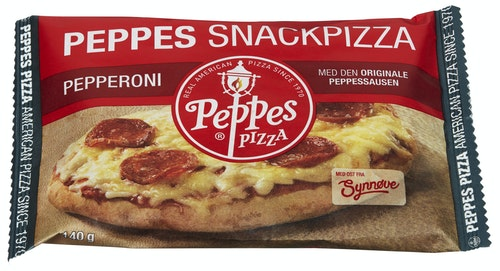 Peppes Pizza Peppes Snackpizza Pepperoni 140 g