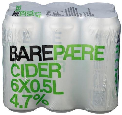 Grans Bryggeri Bare Pærecider 6 x 0,5l, 3 l