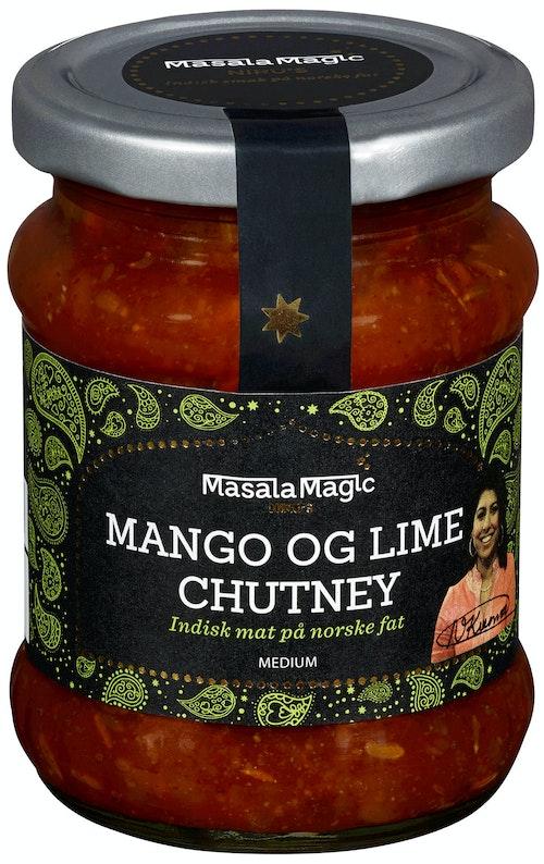 MasalaMagic Nirus Mango & Lime Chutney 250 g