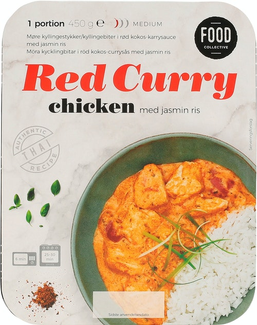 Food Collective Red Chicken Curry 450 g
